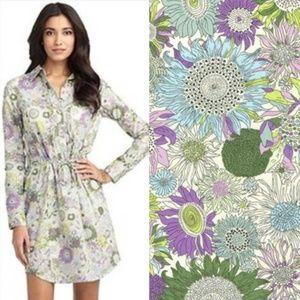 Brooks Brothers Liberty Art Fabrics Shirt Dress 6